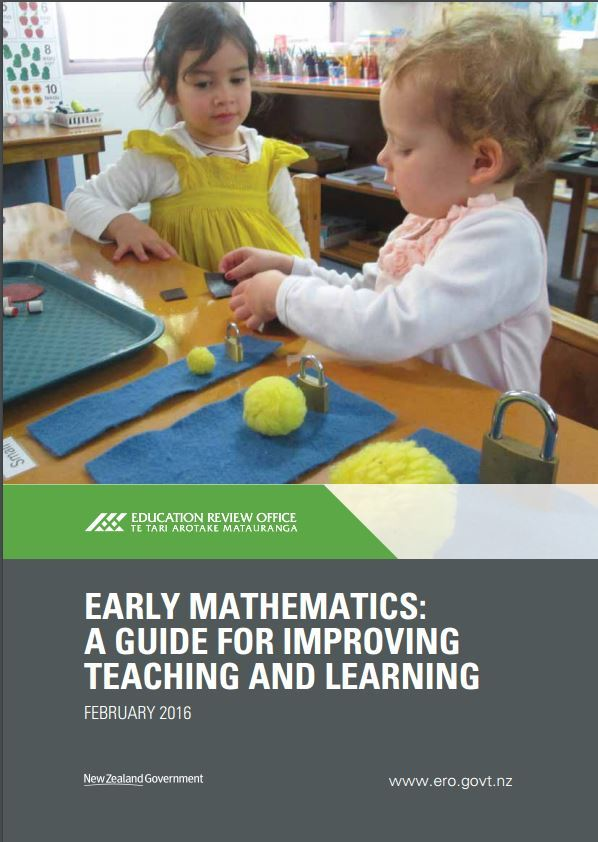 Cover early maths